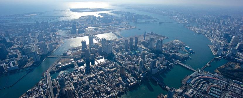東京港全景1