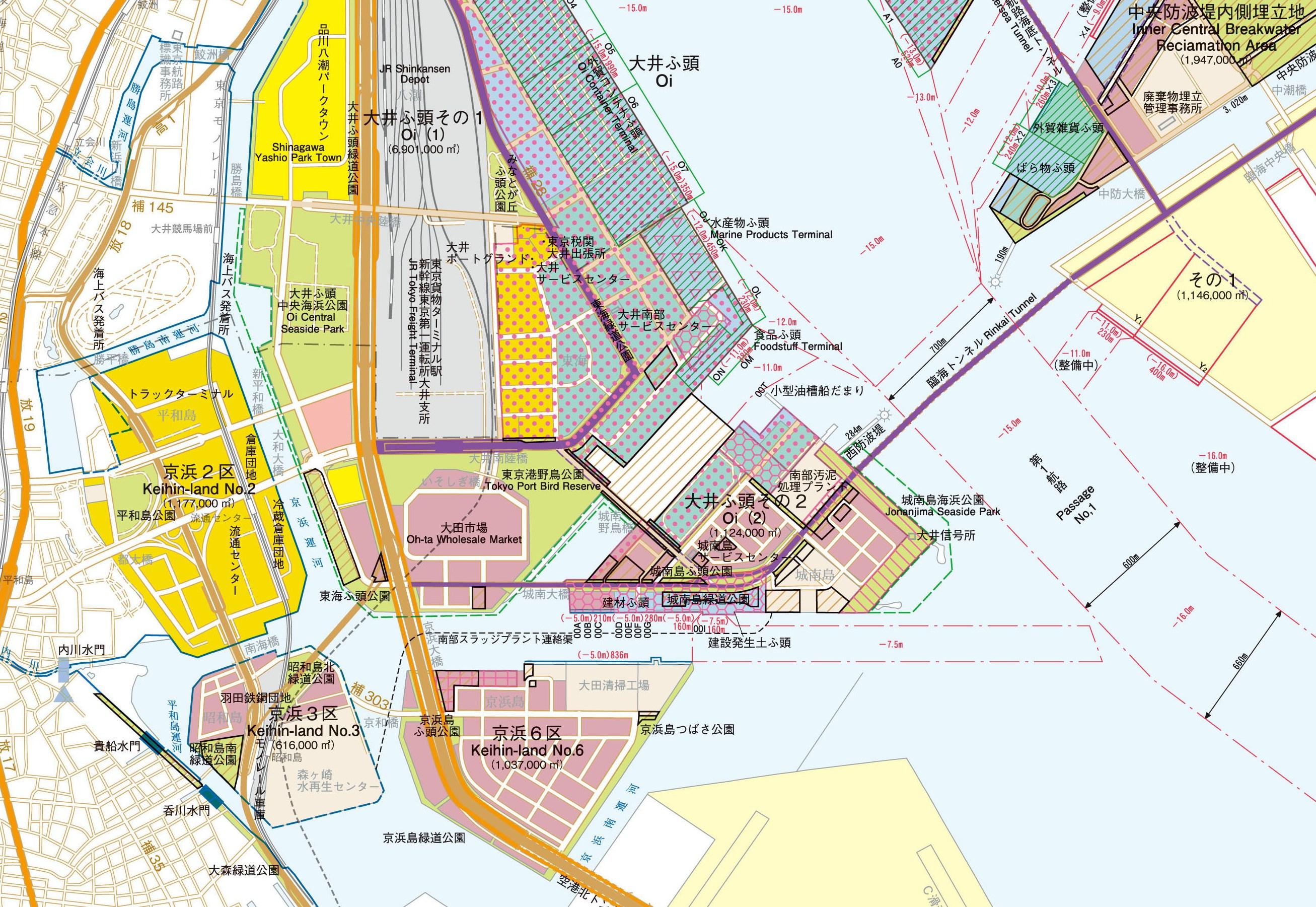分譲地の概要図